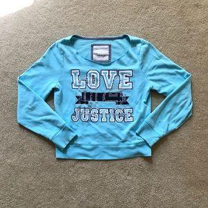 Girl's Justice Sweatshirt